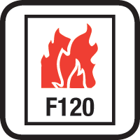 F120 FIRE RATED (Approvals)