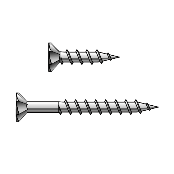 Chipboard Screws Class 3 Galvanised