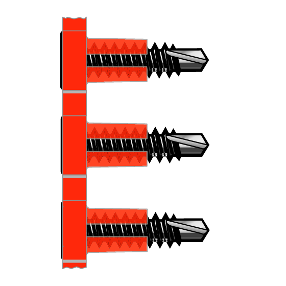 FLAT TOP™ Collated Screws