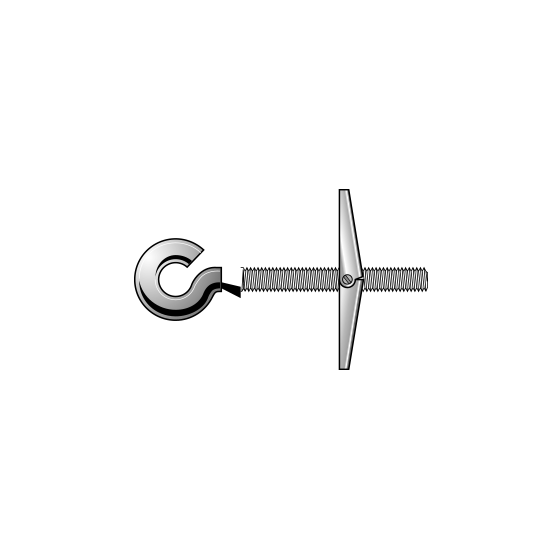 Spring-Toggle Cup Hook